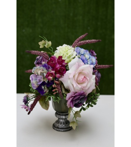 Gorgeous Silk Floral Arrangement (Artificial Flowers)