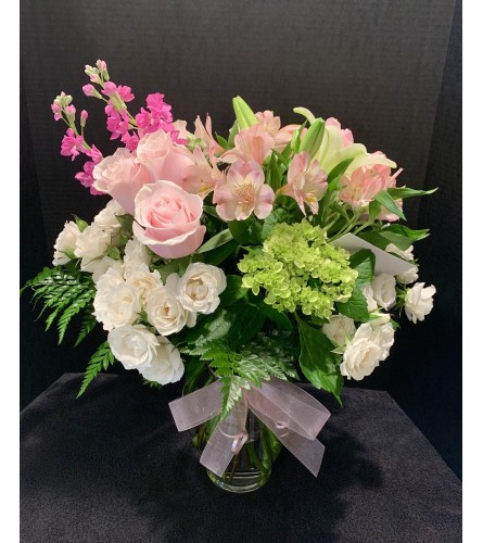 Soft Hues Arrangement
