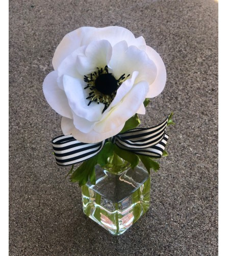 Faux Anemone Flower
