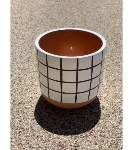 Small Modern Pot