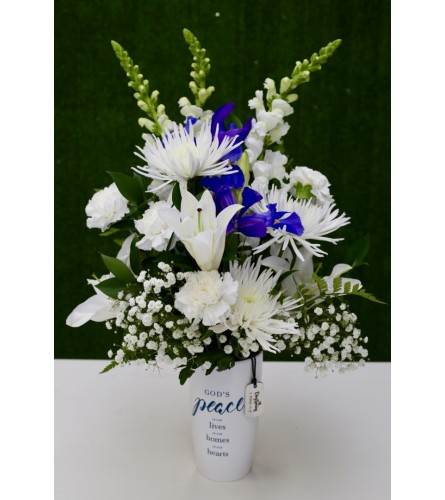 'God's Peace' Floral Arrangement