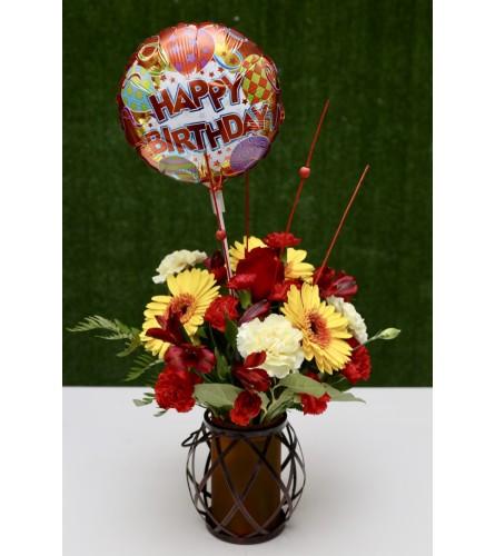 Birthday Floral Cheer