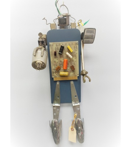 Robot Wall Art - Locally Hand Crafted