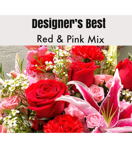 Designer's Best-Red & Pink