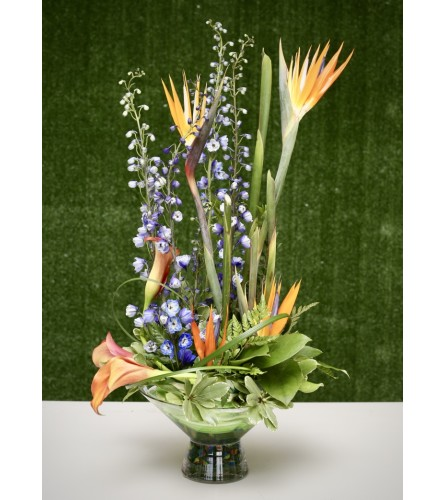 Exquisite Floral Garden Arrangement