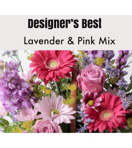 Designer's Best-Pink & Lavender