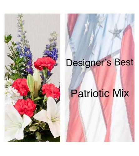 Designer's Best-Red, White & Blue