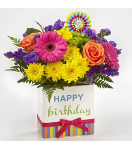 Birthday Brights Gift Bqt