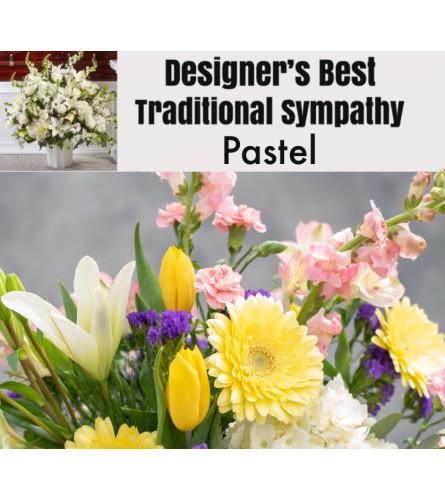 Pastel Mix-Traditional Sympathy