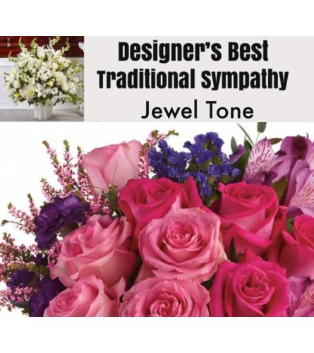 Jewel Tone-Traditional Sympathy