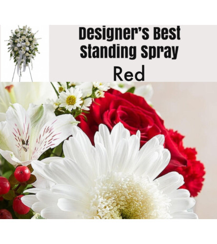 Red Mix-Standing Spray