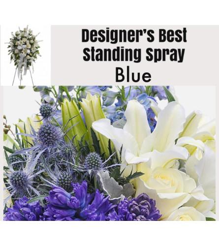 Blue Mix-Standing Spray