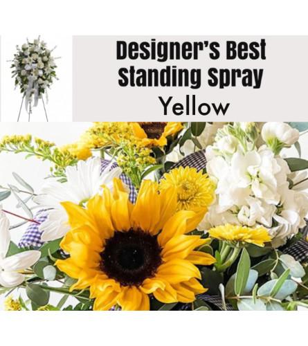 Yellow Mix-Standing Spray