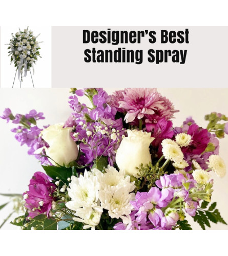 Lavender/Purple Mix-Standing Spray