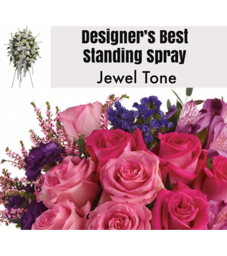 Jewel Tone-Standing Spray