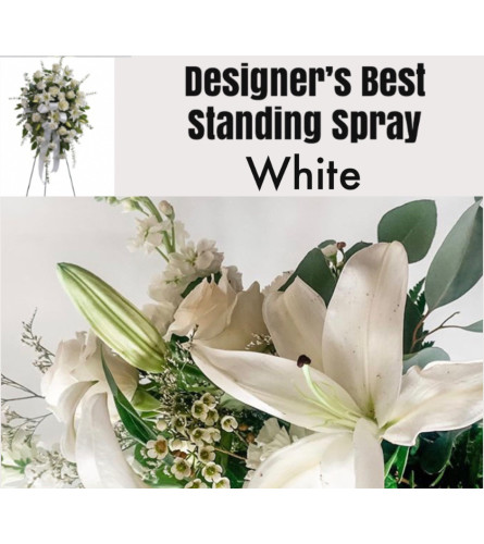 White Mix-Standing Spray
