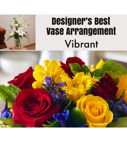 Vibrant Mix-Large Vase Arrangement