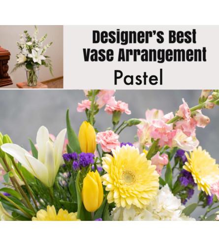 Pastel Mix-Large Vase Arrangement