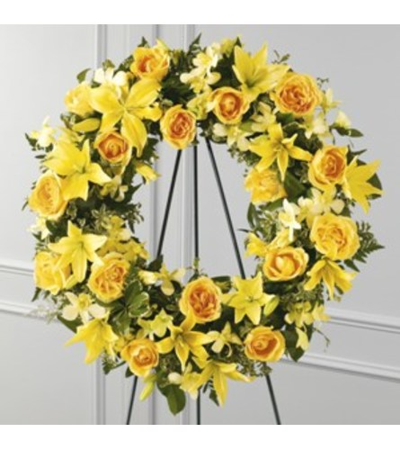Ring of Friendship Standing Wreath