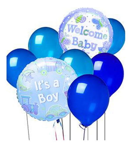 It's A Boy!! Balloon Bunch