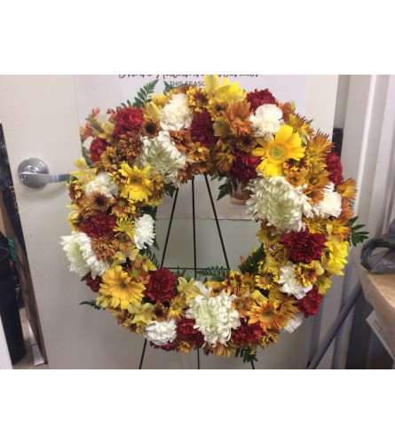 All bright wreath