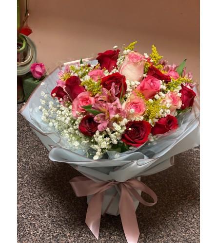 Round open Bouquet 2