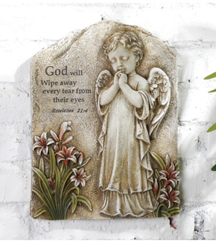 Paraying Angel Plaque