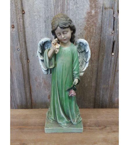 Angel (green) - Crying
