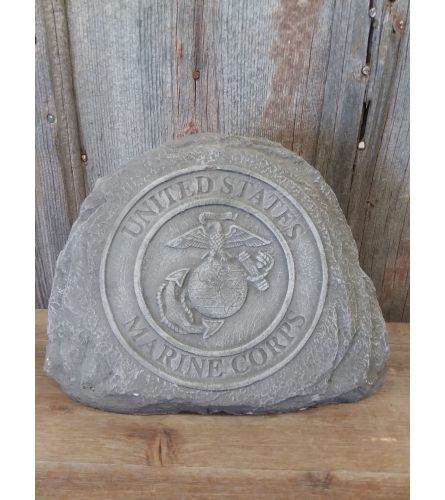Concrete Statue - US Marine Corps