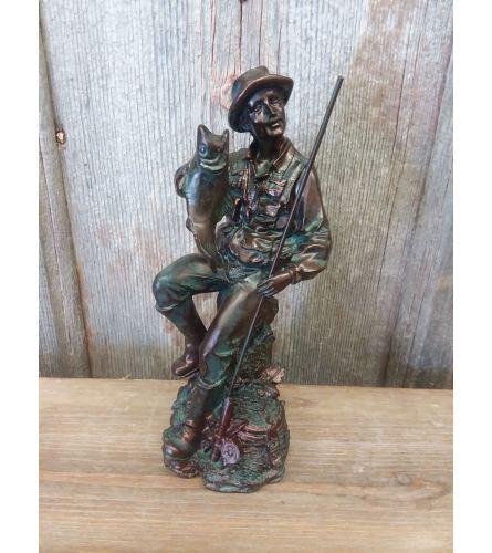 Statue - Fisherman