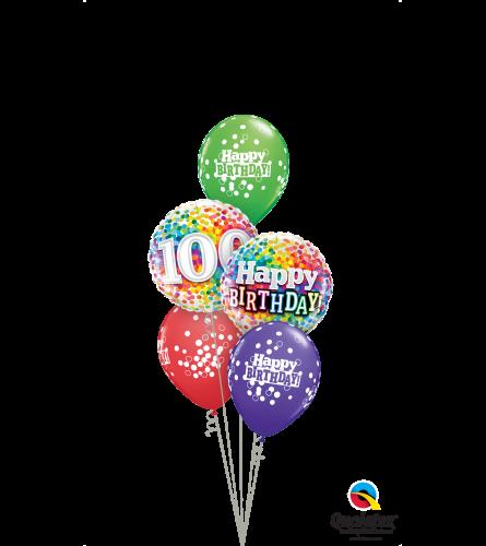 One Happy Century Classic Balloon Bouquet