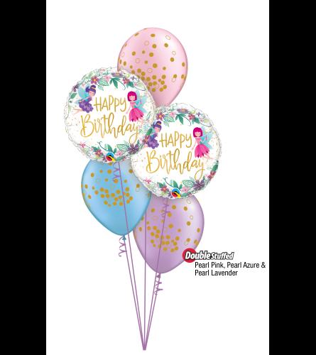 You Make Life a Fairy Tale Classic Confetti Balloon Bouquet