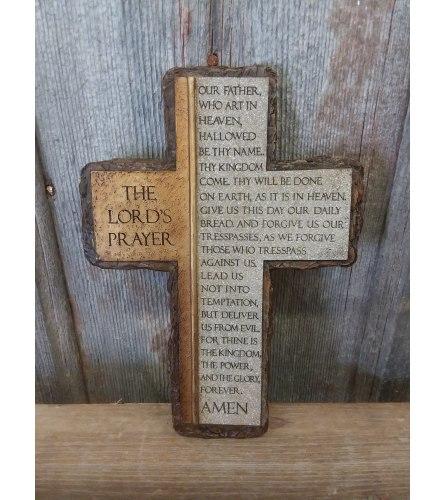"Cross ""The Lords Prayer"""