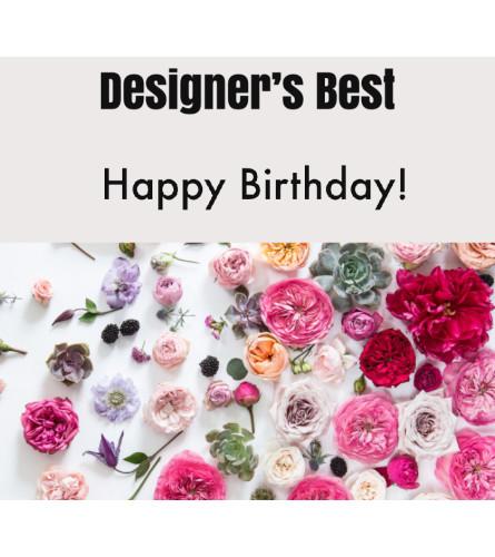 Designer's Best-Birthday