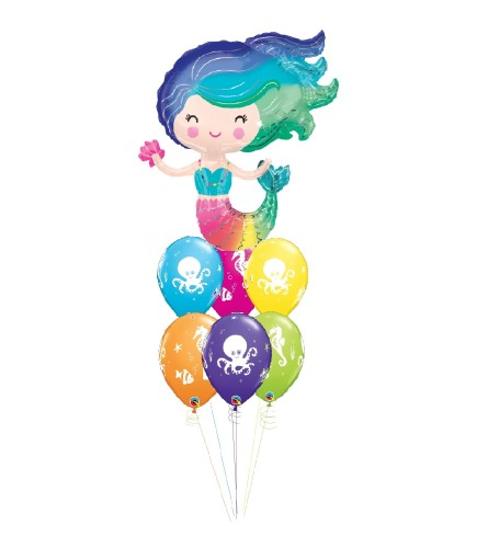 Undersea Enchantment Awesome Balloon Bouquet