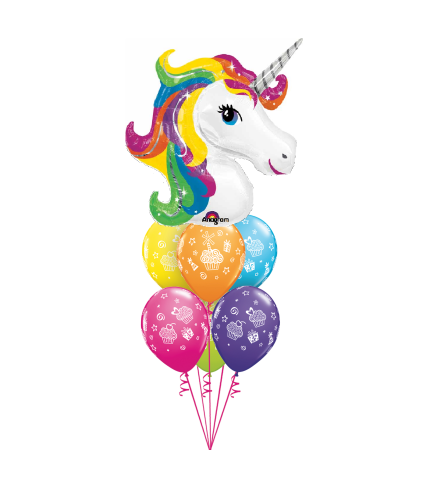 Unicorn Wishes Awesome Balloon Bouquet