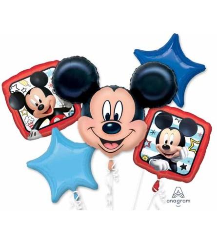 Mickey Roadster Super Fun Foil Balloon Bouquet