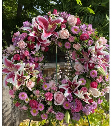 Loving you Forever Wreath