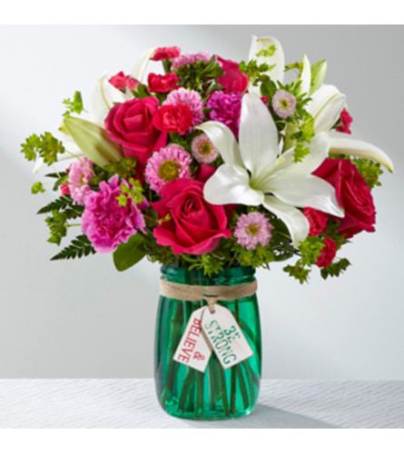 THE BE STRONG AND BELIEVE BOUQUET