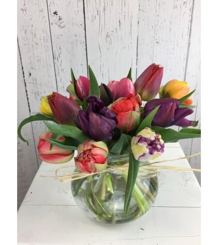Local Tulip Bouquet