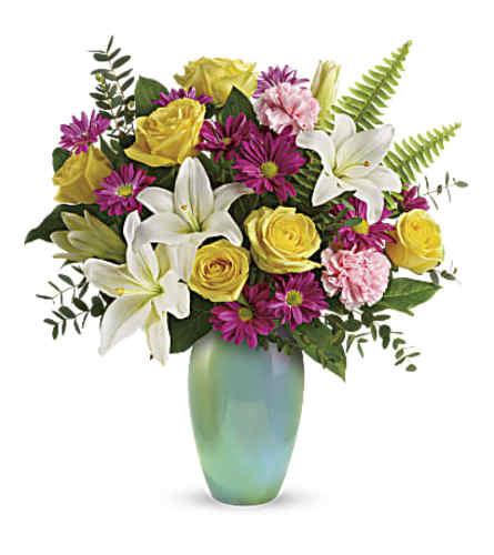 Aqua Artistry Bouquet Teleflora