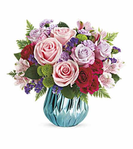 Sparkle And Bloom Bouquet Teleflora