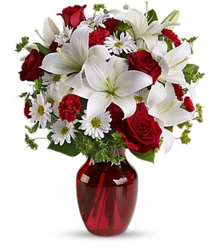 Be My Love Bouquet With Red Roses Teleflora