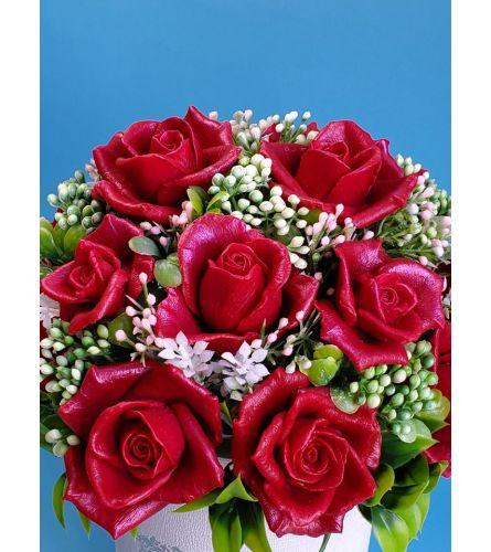 Fragrance rose basket