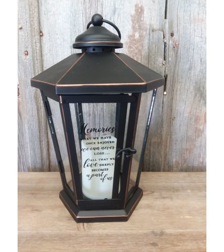 Lantern Streetlight 'Memories'