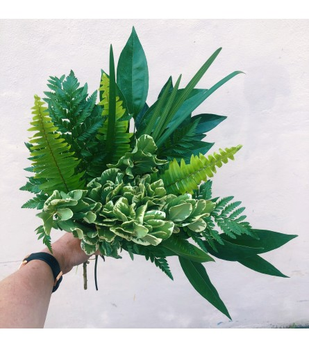 Summer Breeze Greens Bouquet