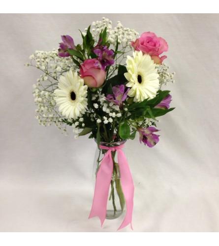 Pretty Petals Vase Arrangement