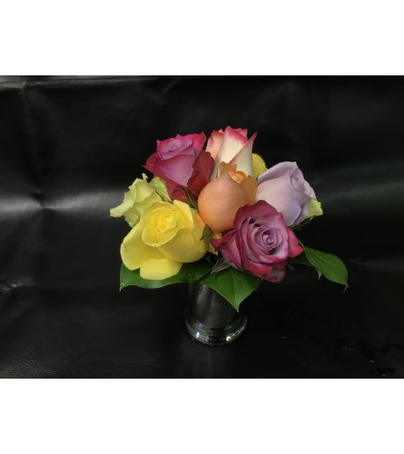MINT JULEP CUP OF ROSES