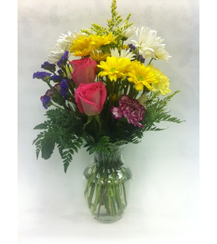 Happy Moments Vase Arrangement