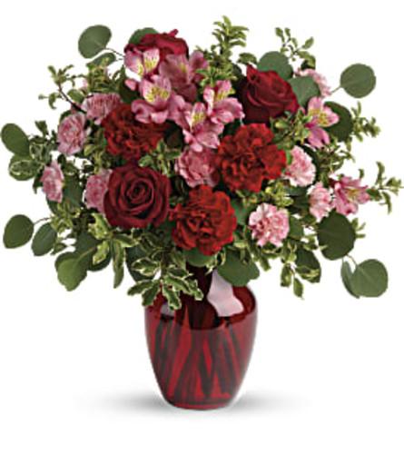 Blooming Belles Bouquet Vase Arrangement